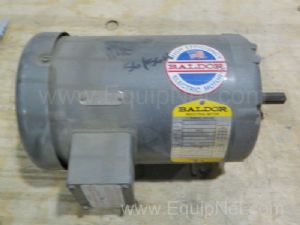 Lot of 3 Baldor M3556 AC 1Hp Motors, 1200rpm, 56H Frame