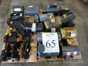 Lot Of Miscellaneous Motors And Speed Reducers