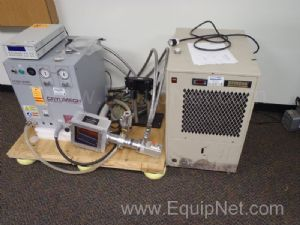 Cryomech CP800 Helium Compressor with Remcor Recirculating Chiller