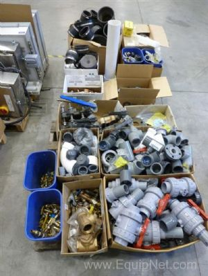 Lot of (2) Skids of Miscellaneous Valves, Fittings, and Much More