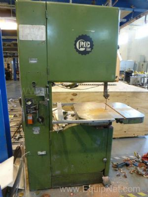Grob Incorporated Metal Band Saw with Welder