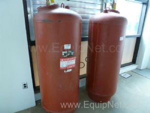 Quantity of Two ITT Bell and Gossett 106 Gallon Pressurized Expansion Tanks - Recievers
