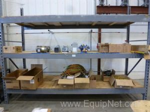 Rack of Miscellaneous Electrical And Vacuum Equipment