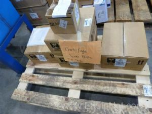 Lot of (5) Boxes of Sanborn Technologies Turbo Separator Spare Parts For Model Turbo T14-2