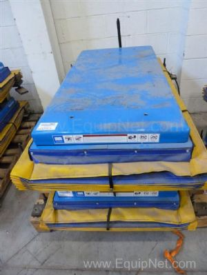 One Lot of Two Bishamon Vision Pallet positioners - Material Lifts