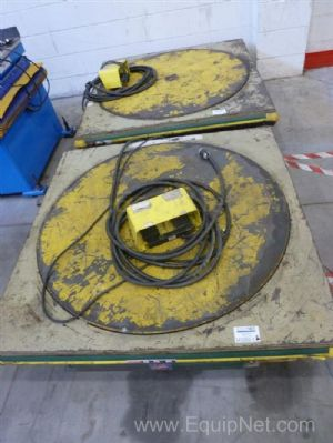 One Lot of Two Southworth Pallet Lift and Positioners