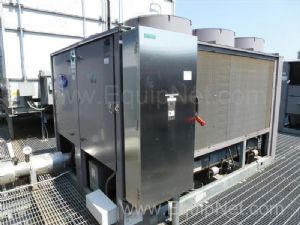Carrier Aqua Force Rotary Screw Chiller 90 Tons  CH-2