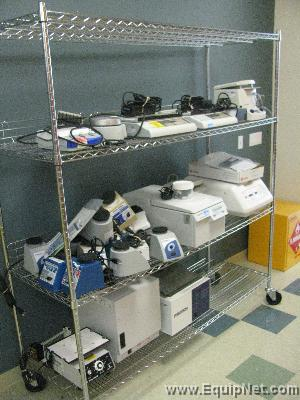 Large Selection of Benchtop Instrumentation including Centrifuges, Balances, Stirrers, Hotplates, Pipettes, Baths, Vortexers,  Pumps, Supplies, Glassware  & more!