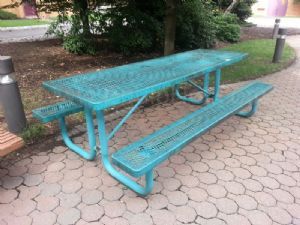 Lot of (2) Picnic Tables
