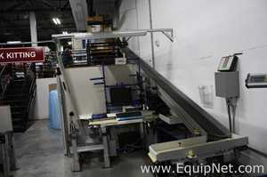 Dorner Two Tiered LPZ Conveyors With A 2200 Series Belt And Lift Gate Conveyor