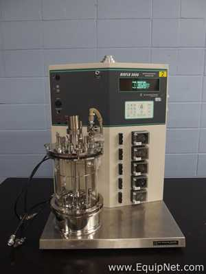 New Brunswick Scientific BioFlo 3000 Batch/Continuous Bioreactor