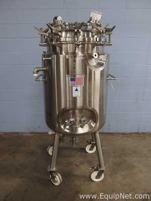 Precision Stainless 250 Liter 316L Stainless Steel Jacketed Portable Tank