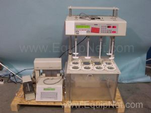 Varian VK7000 Dissolution System With VK8000 Autosampler and Sub Components