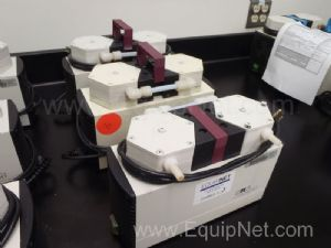 One Lot of Three KNF Newberger Laboport Laboratory Vacuum Pumps