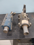 Lot of 2 Onyx 2 Inch Pneumatic Pinch Valves