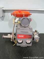 Fisher Baumann Controls 32-24 588S 1 Inch 1-Way Pneumatic Actuator Globe Valve With Positioner