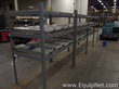 Lot of 4 Uline Product Picking Racks With Roller Conveyors