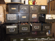 16 Drawer Storage Cabinet With Miscellaneous MRO