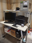 Dell Mobile Computer Workstation with Printers