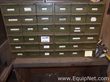 36 Drawer Storage Cabinet With Miscellaneous MRO