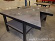 Lot of 2 Trapezoid Welding Tables