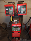 Fronius Nederman TransPuls Synergic 4000 Welder with Dual VR4000 Wire Feeders and Cooling Unit