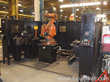 ABB IRB 2400-0137 Robotic Welding Station with Fronius TPS 5000 MIG Welder and Enclosure - Robot 1