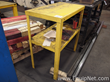 Lot of 3 Small Yellow Steel Tables