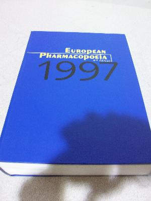 1997 European Pharmacopoeia 3rd Edition
