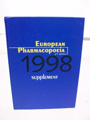 1998 European Pharmacopoeia 3rd edition Supplement