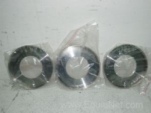 Lot of 3 Filter Disc THK Possibly Has 102 ID X1950DX10MM
