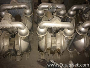 Used diaphragm pumps buy sell equipnet wilden p15 diaphragm pump 6 pumps and 2 rebuild kits ccuart Gallery