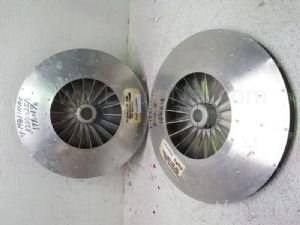 Lot of 2 primary and secondary chambers impellers