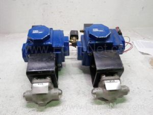 Lot of 2 ITT H35 Ball Valve