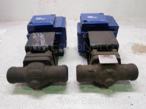 Lot of 2 ITT H35 Ball Valves
