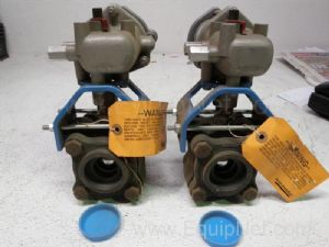 Lot of 2 Amsco unknown model  Valves