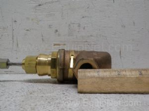Lot of 3 Durco  one-half inch to one and one-half inch Pulg valves