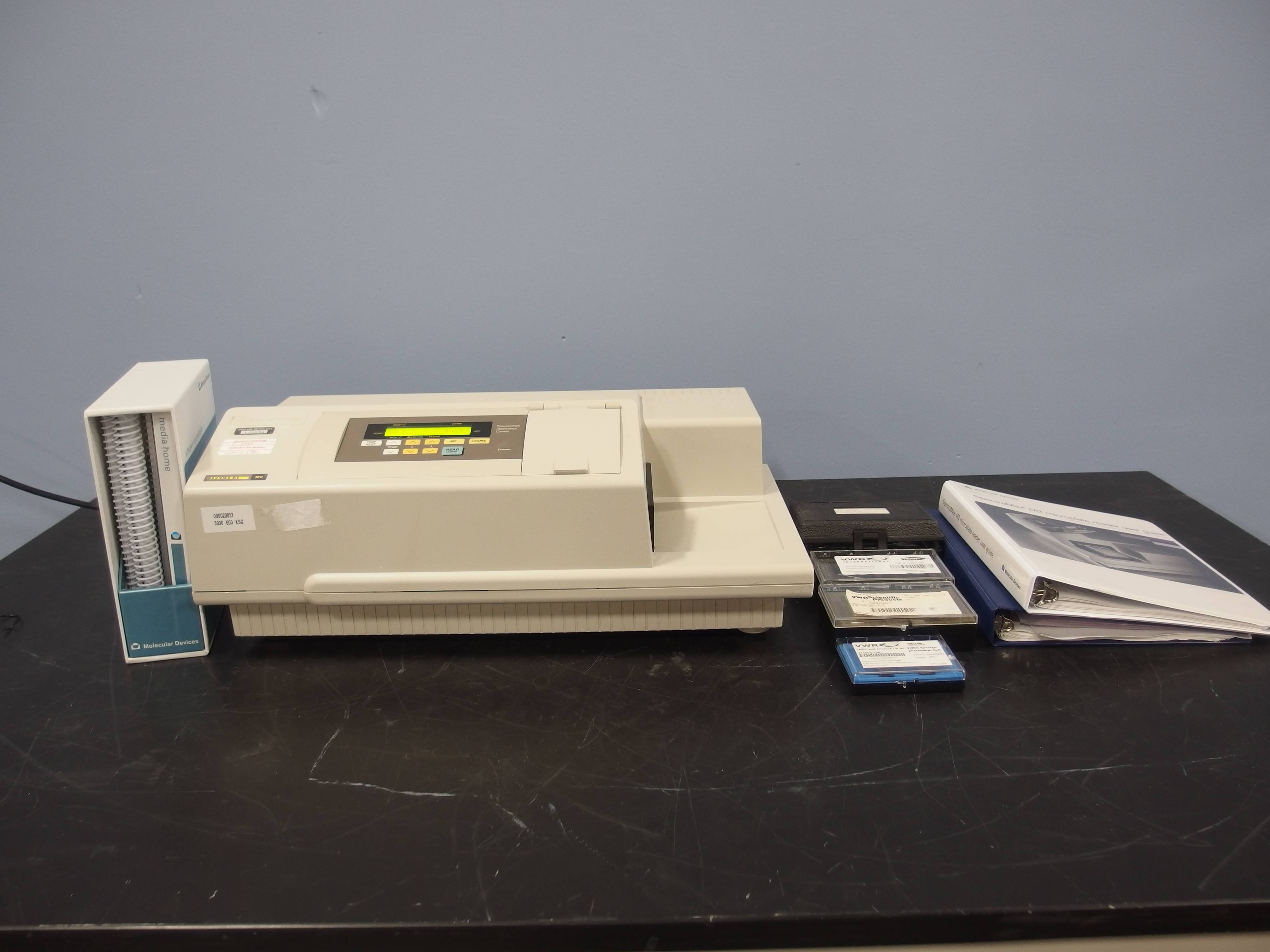 spectramax m2 microplate reader manual