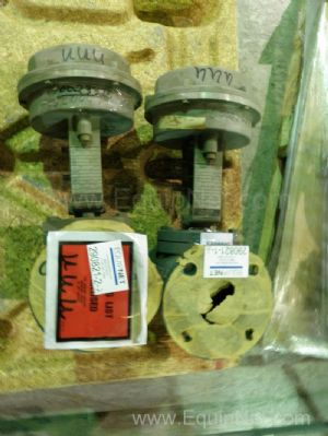 Lot of 2 Honeywell Model 38105 3-inch central Valves with Actuators