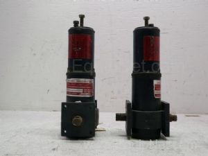 Lot of 2 Ramcon model B35C Pneumatic Actuators