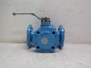 Flowserve model AMP3L 0015536 Atomac 2-inch 3 way Ball Valve