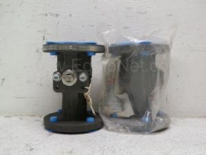 Lot of 2 Neles-Jamesbury model IMO-50 one and one-half inch Ball Valve