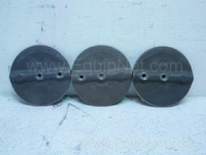 Lot of 3 Butterfly Valve Flappers