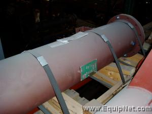 Unused 2000 TCS Kam Thermal Carbon Steel Shell & Tube Cooler