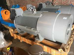 Unused Westinghouse 800 Horse Severe Duty Electric Motor
