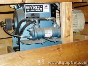 Unused 1993 Gyrol Hydraulic Fluid Drive w/7.5 HP Motor