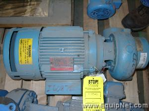 Unused Paco Pumps Inc. Centrifugal Pump with Matching GE 5 hp Motor