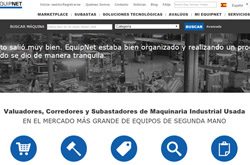 EquipNet launches full website in Spanish