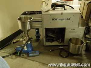 IKA Magic Lab Granulator with Case and Components
