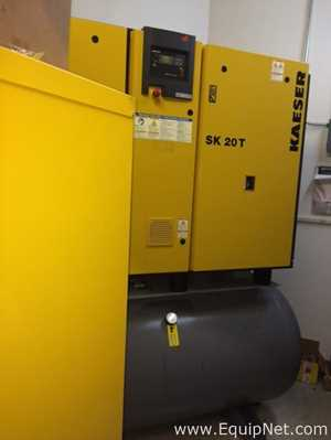 Kaeser SK 20 T Air Compressor with Filters and Housing